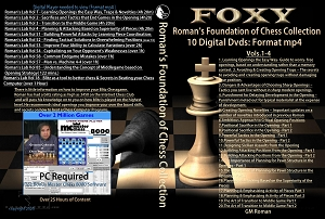 Roman's Foundation of Chess Collection (10 Digital DVDs) Download or Disk